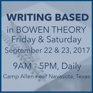 Writing Based in Bowen Theory